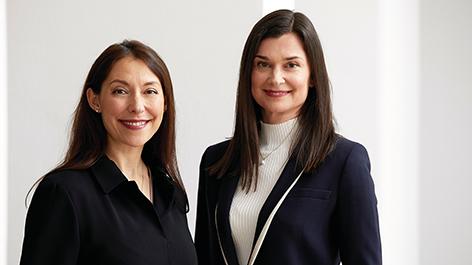 Nathalie von Siemens und Nina Smidt