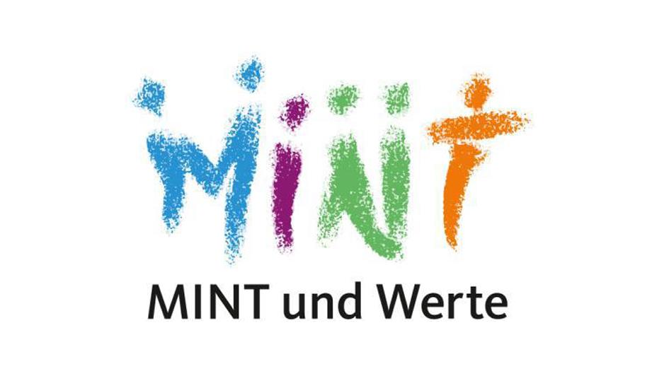 Das Logo von Mint und Wert für Demokratie, Teamgeist, Verantwortung