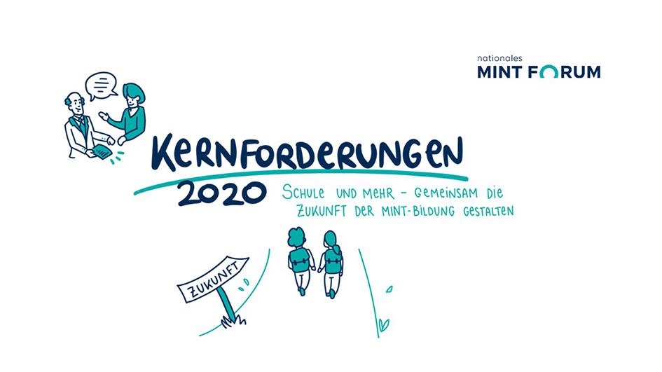 Das Nationale MINT Forum stellte Kernforderungen 2020 vor