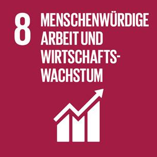 Sustainable Development Goal 8 – Menschenwürdige Arbeit und Wirtschaftswachstum